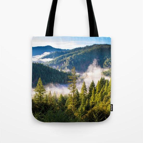 Smoke on the Mountains Tote Bag
