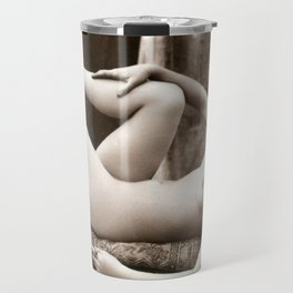 Vintage Nude Art Beauty No.106 of 250, from the Vintage Nude Arts Collection. Travel Mug