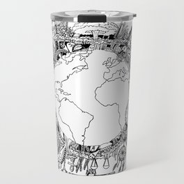 Mad World  Travel Mug