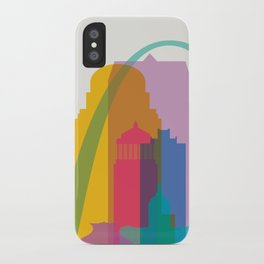 Shapes of St. Louis. Accurate to scale iPhone Case