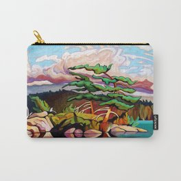 Juniper Islet by Amanda Martinson Carry-All Pouch