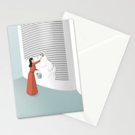 Banned From Literacy Stationery Cards