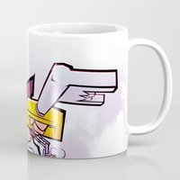 kingdom hearts Mugs featuring Kingdom Hearts 2 - Sora by Outer Ring