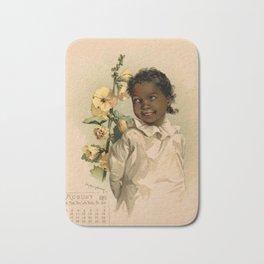 African Girl Maud Humphrey Bath Mat
