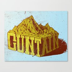 Cuntain Canvas Print