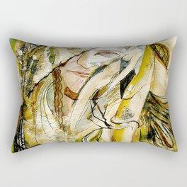 Golden Collar Rectangular Pillow