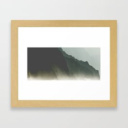 Na'Pali dreams Framed Art Print