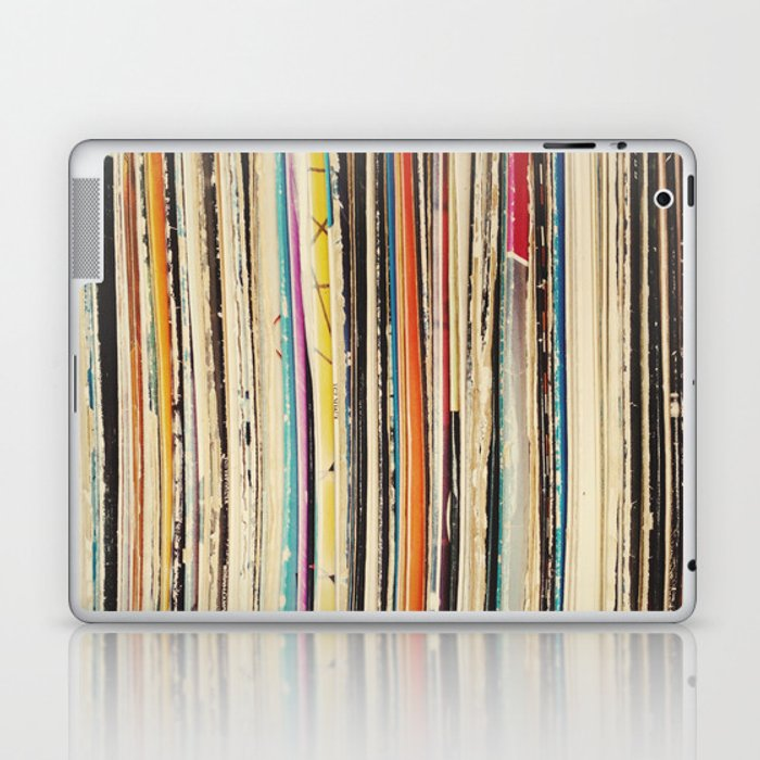 Record Collection Laptop & iPad Skin
