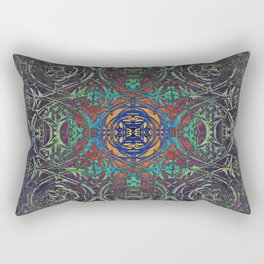 Ironwork Psychedelic Rectangular Pillow
