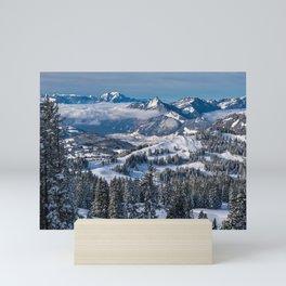 Things To Remember--Swiss Alps Landscape Mini Art Print