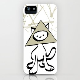 minima - pyramid cat iPhone Case