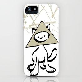 minima - pyramid cat iPhone Case