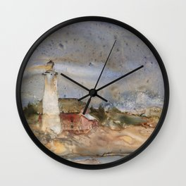 Menagerie Island Lighthouse Wall Clock