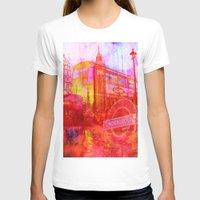 london T-shirts featuring LONDON by Ganech joe