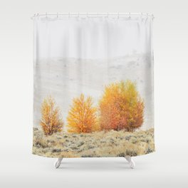 Fall Interrupted Shower Curtain