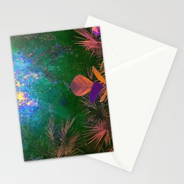 Sunlight in the Enchanted Forest Stationery Cards