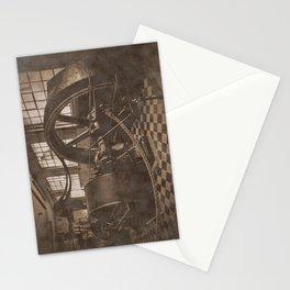 Steam Engine - Sepia Stationery Cards