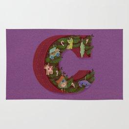 C is for Christmas Rug