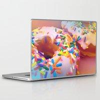 sprinkles Laptop & iPad Skins featuring Sprinkles by ShannonPosedenti