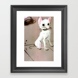 Street Chihuahua (TOPOS) Framed Art Print