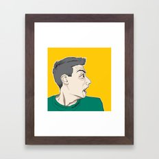 AD ROC Framed Art Print
