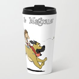 AJ & Magnus Bee Chasing Travel Mug
