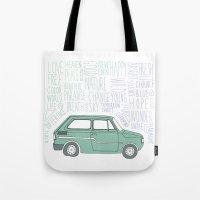 indie Tote Bags featuring Indie by Tuylek