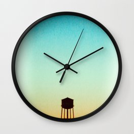 New York Rooftop Wall Clock