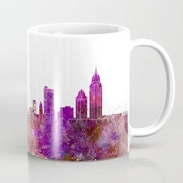 Mobile skyline in watercolor background Coffee Mug