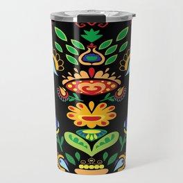 Traditional Serbian art  Travel Mug