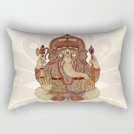 Ganesha: Lord of Success Rectangular Pillow