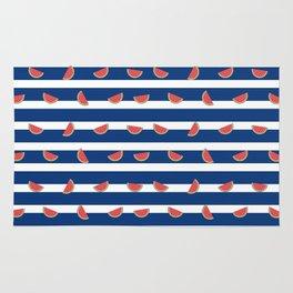 Nautical Melon Rug