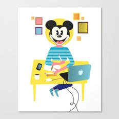 Tuesday and I'm feeling goddam perky Canvas Print