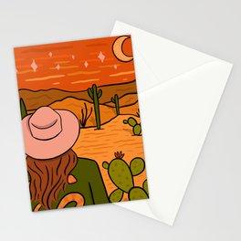 Desert Girl Stationery Cards
