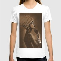 afro T-shirts featuring Afro Beauty by Luis Dourado