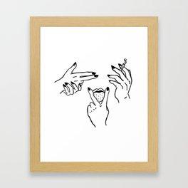 Lunatica Framed Art Print