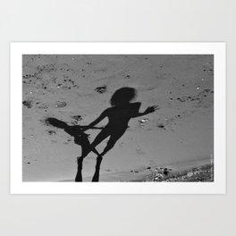 Shadows_B Art Print