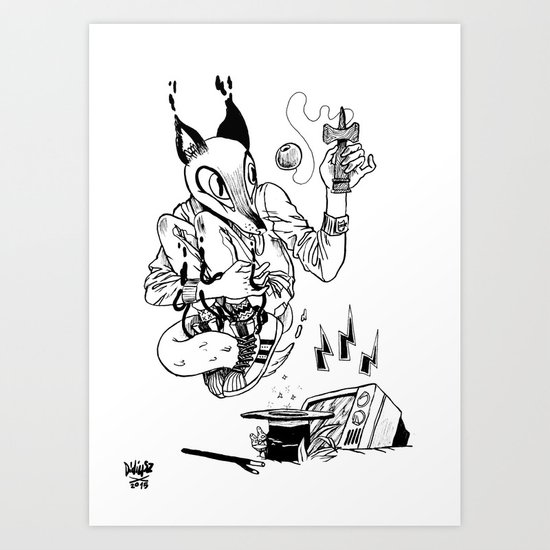 Magic Trick! Art Print