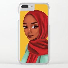 jamilah Clear iPhone Case