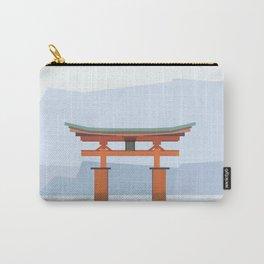 Floating torii, Itsukushina Shrine, Japan Carry-All Pouch