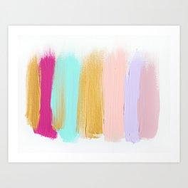 Colors 63 Art Print