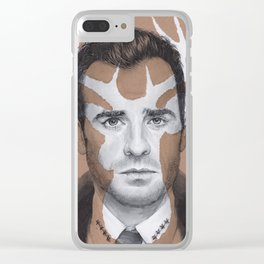 Kevin Garvey from The Leftovers Clear iPhone Case