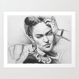 Freida Art Print