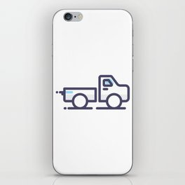 Utility Car Lineart Icon iPhone Skin