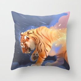 Flame Keeper Throw Pillow