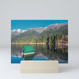Capilano Lake  - reservoir Mini Art Print