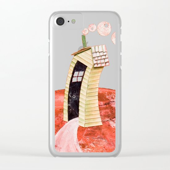 The tale's little house Clear iPhone Case