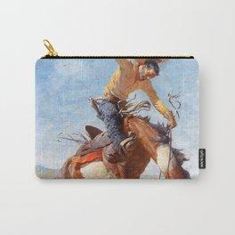 "Western Art ""Wild Bucker"" Carry-All Pouch"
