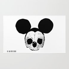 Dead Mickey Mouse Rug