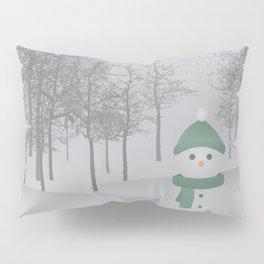 Christmas Snowman Pillow Sham